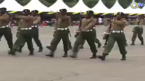 Funny military training ever