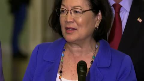 "Sen. Hirono: Men needs to ""shut up [and] do the right thing"""