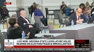 Witness # 3 Speaks at Arizona State Legislature Hearing on Election 2020. Nov. 30, 2020.