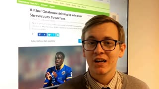 Shrewsbury Town update - September 28th - Video