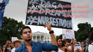Keeping 'Dreamers' would cost taxpayers $26B over next 10 years - Video