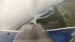 Mind blowing multi-camera aerobatic flight show