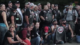 A Band Of Bikers That Battles Child Abuse - Video