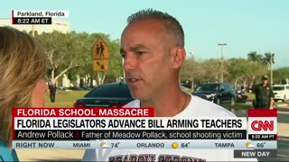 Father of Stoneman Douglas Shooting Victim in Support of Arming Qualified Teachers - Video