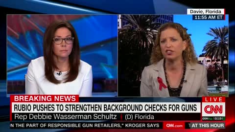 Watch Wasserman Schultz Erroneously Call to Ban 'High-Capacity Rapid-Fire Magazines'