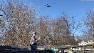 Drone Delivers Cold One during Lockdown