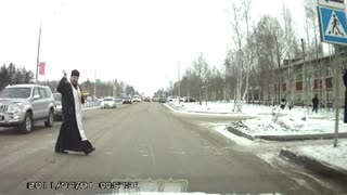 Maybe this will keep Russian roads safer - Video