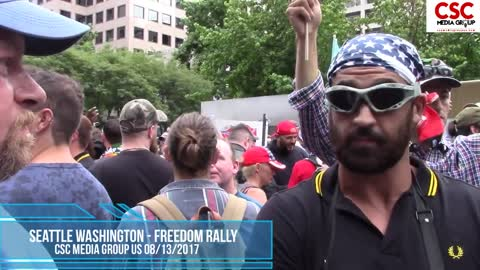 Proud Boys Send Loony Unhinged Lefties Into A Triggered Rage At Seattle Freedom Rally