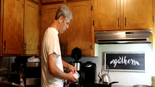 Making Morning Coffee in the USA