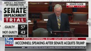 Mitch McConnell speech after impeachment