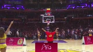 "Lakers Make 17 3-Pointers in a Game, Fan Hits $95,000 Half-Court Shot with ""ICE IN MY VEINS"" - Video"