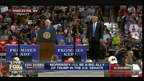"""West Virginia Crowd Chants """"Lock Her Up!"""" at Trump Rally"""