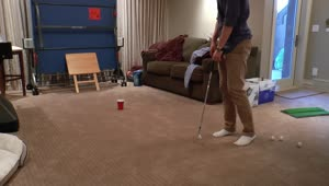 Epic golf pong trick shot compilation - Video