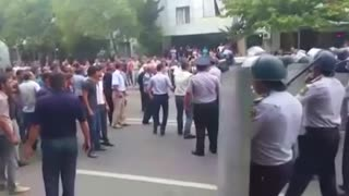 Police custody death sparks protests in Azerbaijan - Video