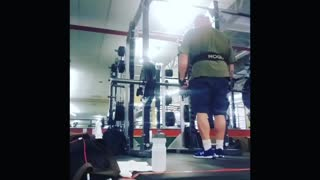 185lbs front lateral raises