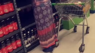 Shopper Takes Galactic Means in Prevention