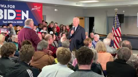 Biden Snaps At Iowan Who Challenged Him At Campaign Event