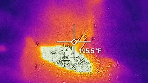 Playing with the flir cell phone