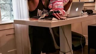 Dwayne The Rock Johnson as a dad is so lovable - Video