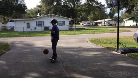Hoverboard Basketball???