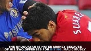 6 Most Hated Players In Football (Soccer) - Video