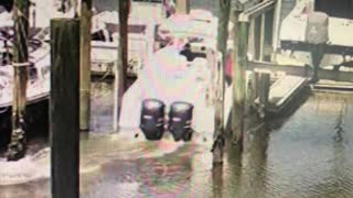 Boat Loses Control While Entering Boat Lift