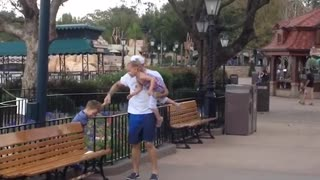 Dad Does The Difficult After Kids Have Magic Kingdom Meltdown