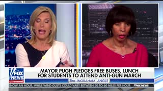 Baltimore Mayor Battles Laura Ingraham Over Student Gun Control Protests - Video