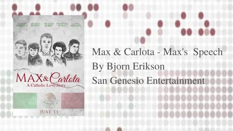 "Bjorn Erikson - Max's Speech (from ""Max & Carlota""/Audio Only)"
