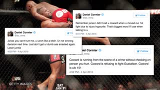 Jon Jones & Daniel Cormier's Hilarious Twitter Fight - Video
