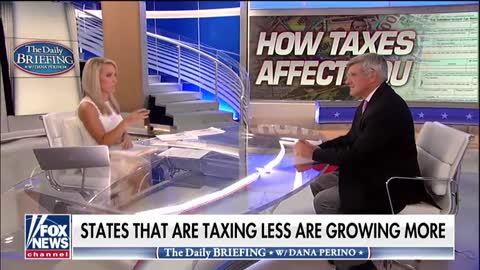 Stephen Moore discusses residents fleeing high-tax liberal states