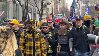 Proud Boys storm DC for the March For Trump Rally