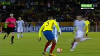 Gol de Messi (3) vs Ecuador - Video