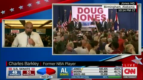 Charles Barkley Says Doug Jones a Wake-Up Call for Dems to 'Get Off Their Ass' to Help Black People