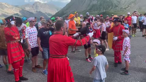 Beefeater Bend at the Tour de France are Britain's most famous cycling fans