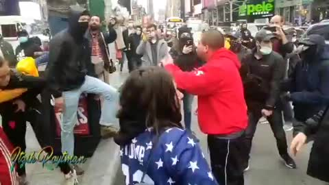 Antifa mess with the wrong Jewish caravan in NYC