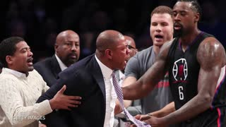 Blake Griffin Gets EMBARRASSED with HUGE BLOCK by Richaun Holmes in Return from Injury - Video