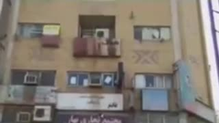 Shopping centre fire in Ahvaz - Video