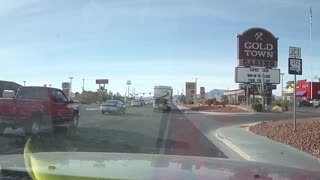 Major Emergency Response to Traffic Collision on Homestead & Kellogg in Pahrump - Video