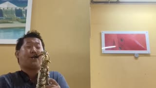 Perfect by Ed sheeran sax cover