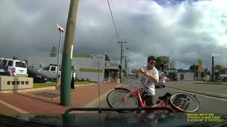 Trike Close Call - Video