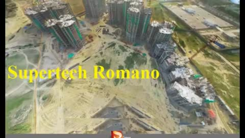 Supertech Romano 2 and 3 BHK Sector - 118
