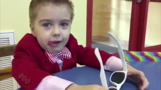 4-year-old gentleman asks out Valentine's