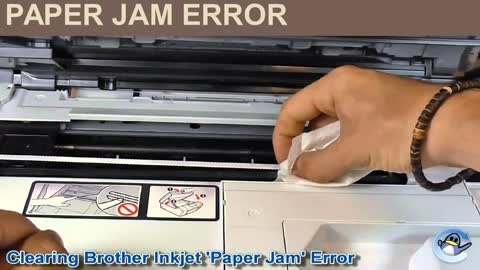 How to fix brother printer paper jam error| Toll Free +44 800-046-5291