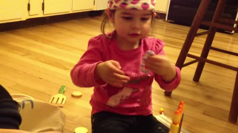 Toddler Has Funniest Reaction To Gift
