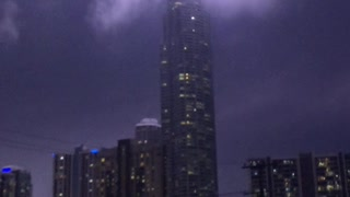 Q1 Surfers Paradise Acting like a Lightning Rod - Video