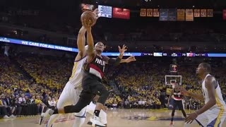 Steph Curry TROLLED by Trail Blazers After Ridiculous Traveling No-Call - Video