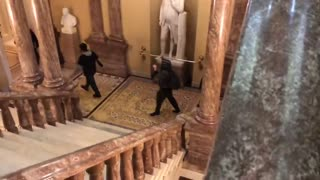 WATCH: Protesters Have Entered the Capitol Building