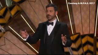 "Jimmy Kimmel: ""Fake News"" CNN, LA Times And NY Times Not Allowed At Oscars - Video"
