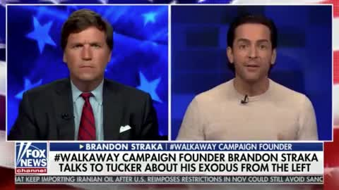 Tucker Carlson Interviews WalkAway Movement Founder — Brandon Straka